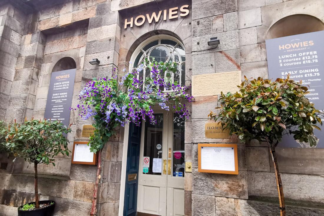 Howies Restaurant Edinburgh