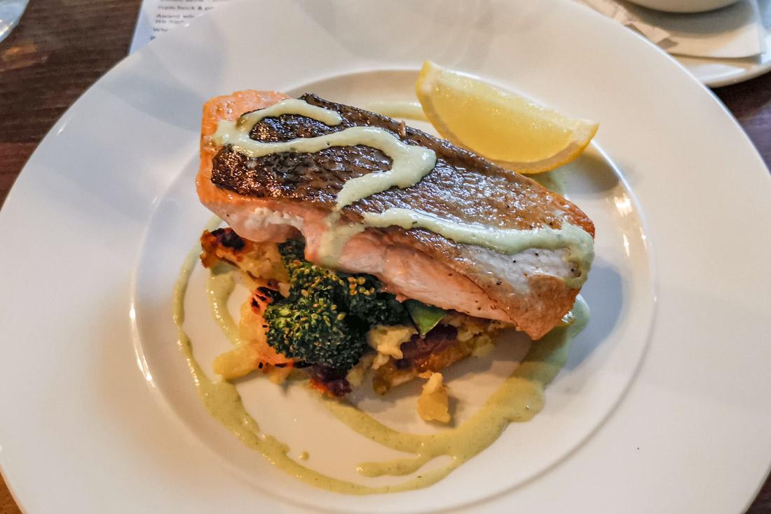 Howies Restaurant Salmon Edinburgh