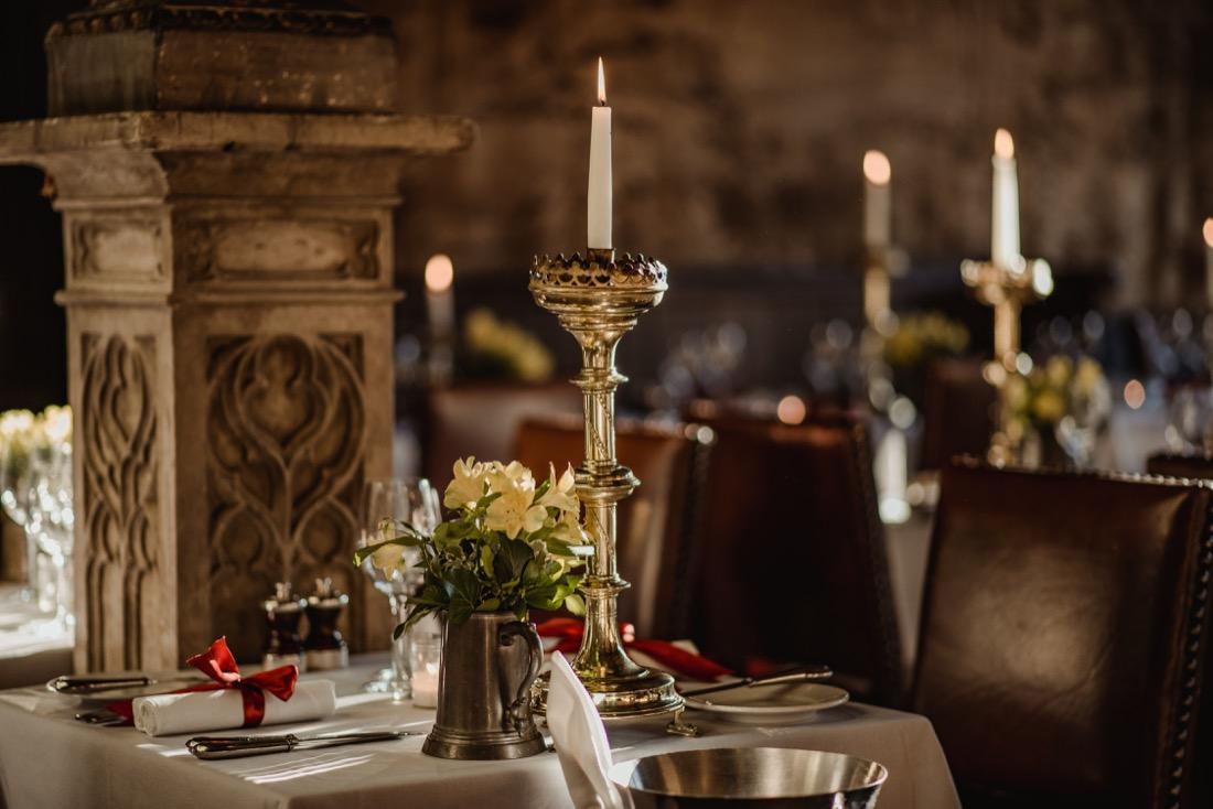 Witchery Edinburgh Food Restaurant tables