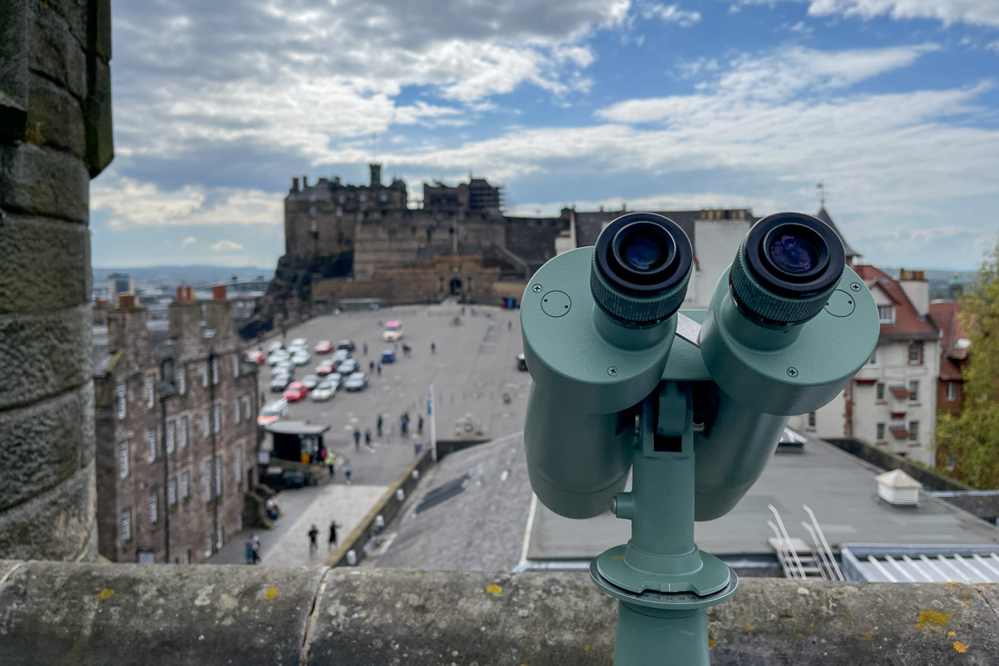 Camera Obscura Edinburgh Castle Binocular