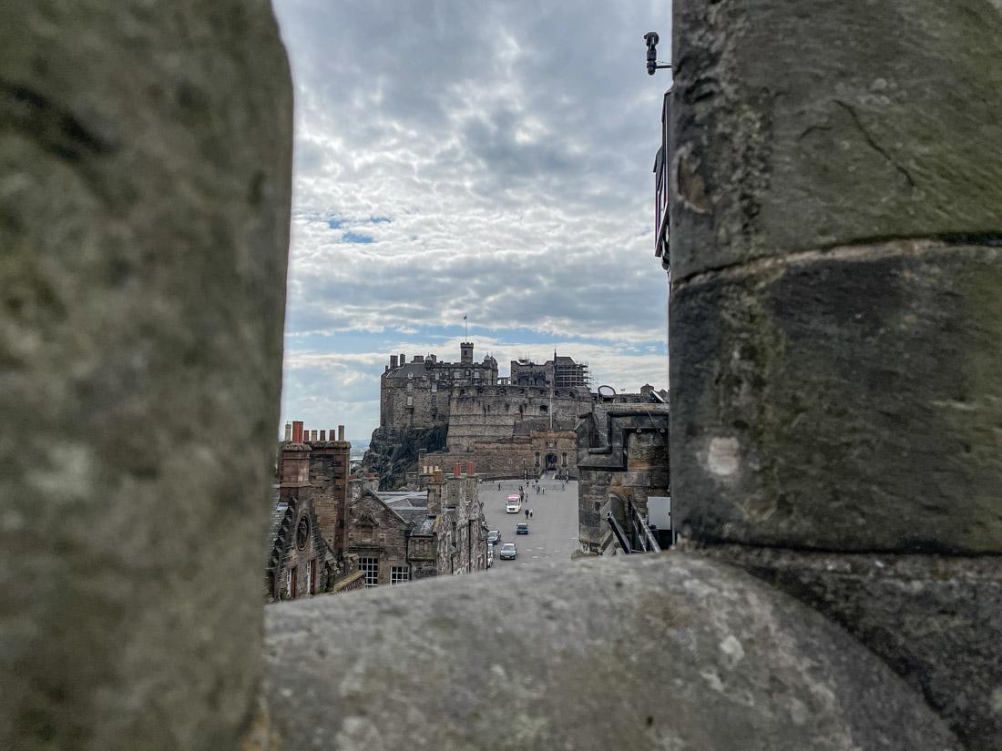 Camera Obscura Edinburgh Castle View