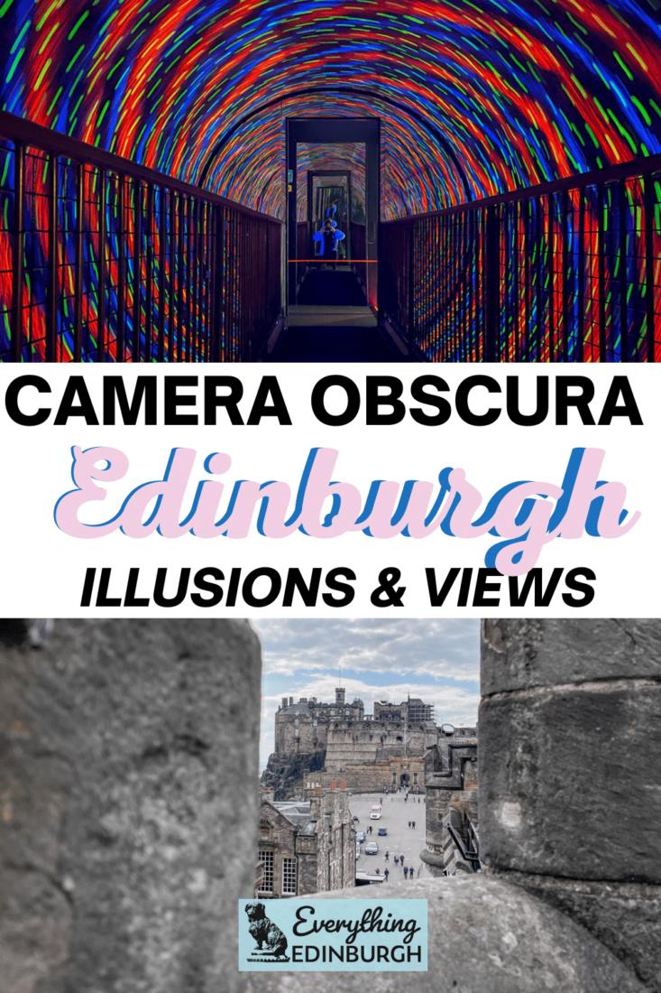 Camera Obscura Edinburgh Illusions