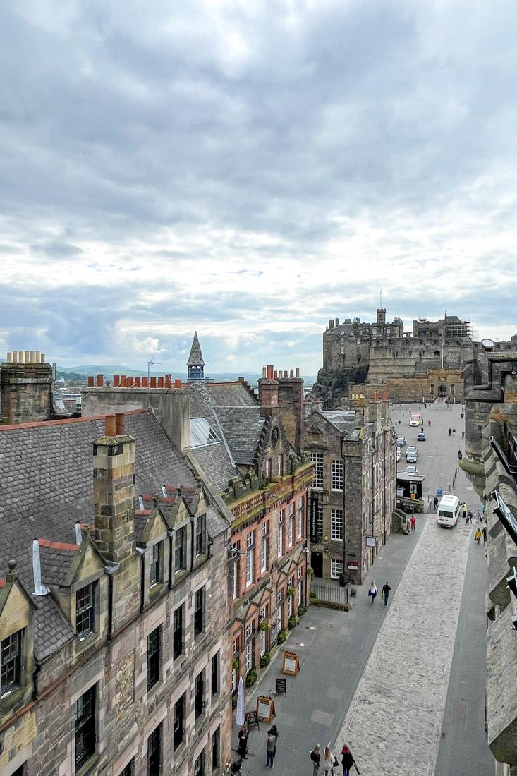 Camera Obscura Edinburgh Old Town Castle