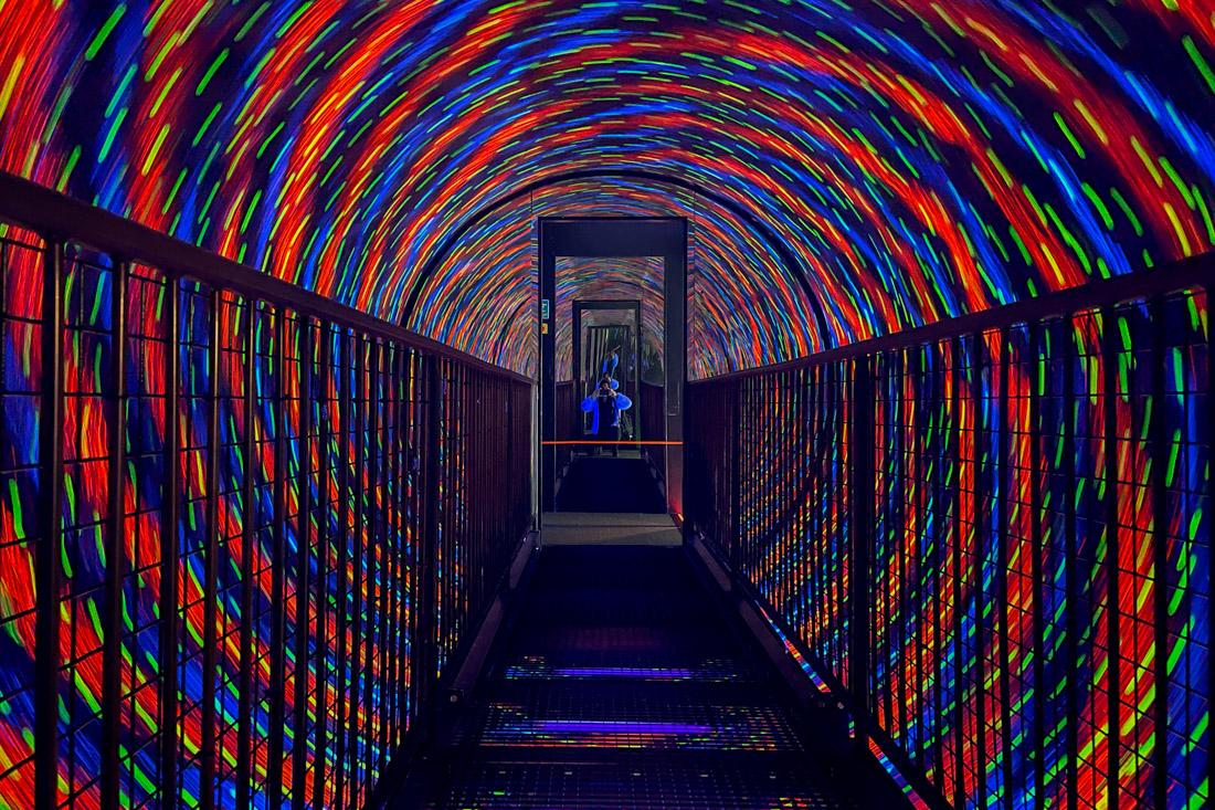 Camera Obscura Edinburgh Vortex Tunnel Light