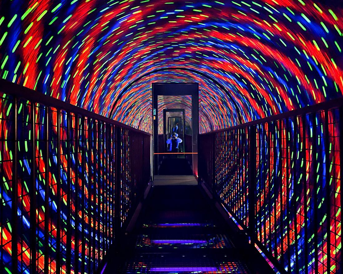 Camera Obscura Edinburgh Vortex Tunnel Lights