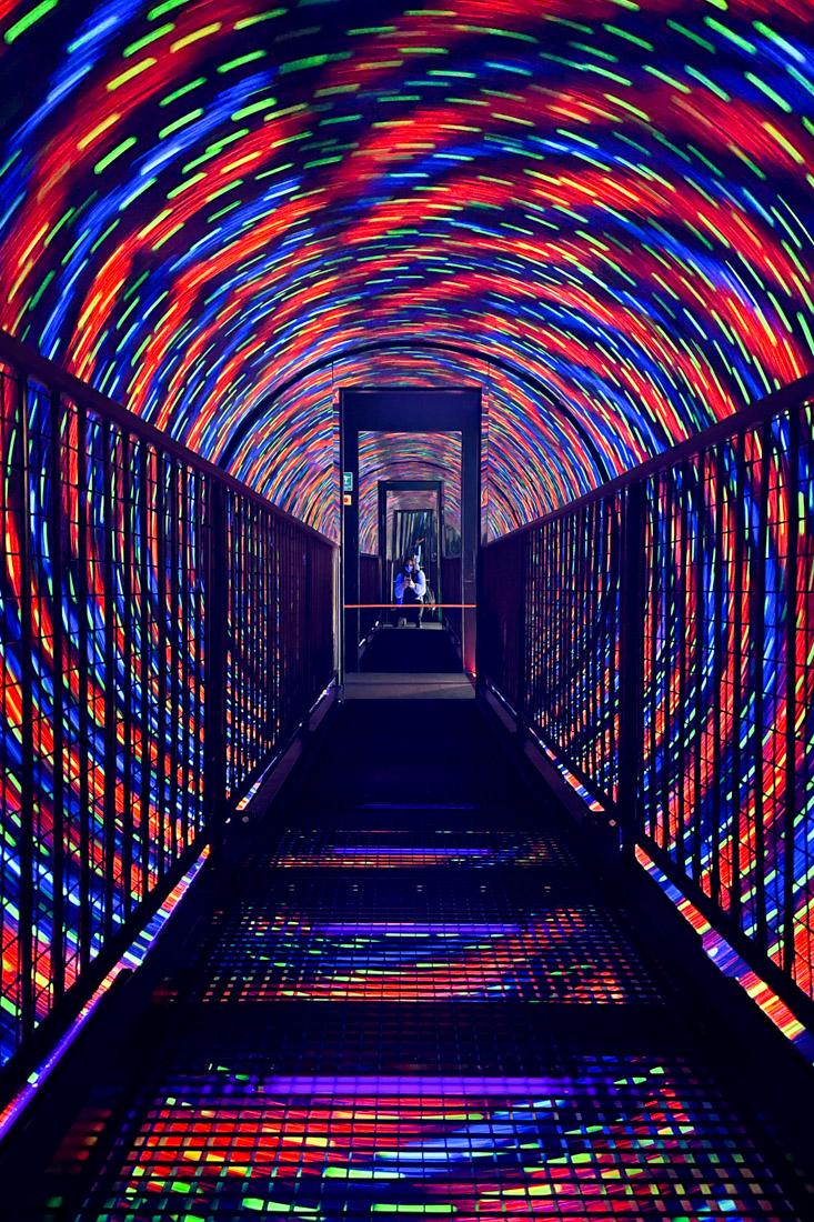 Camera Obscura Edinburgh Vortex Tunnel