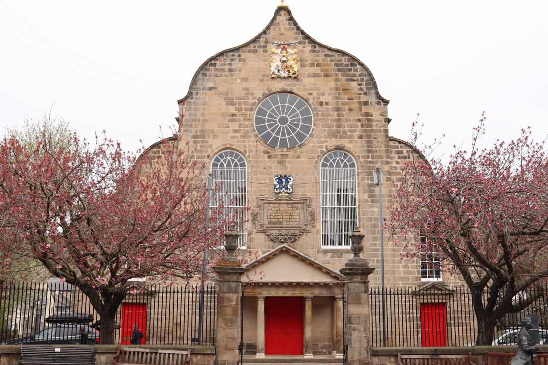 Canongate Kirk From Royal Mile