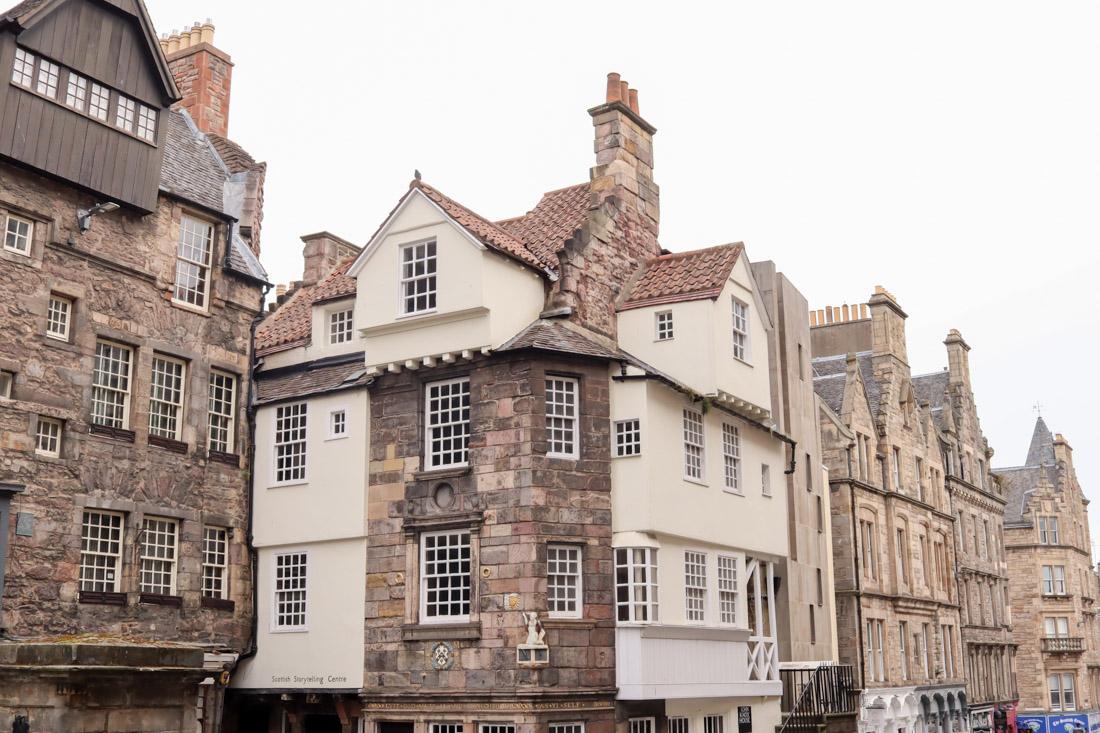 John Knox House Storytelling Museum Royal Mile Buildings