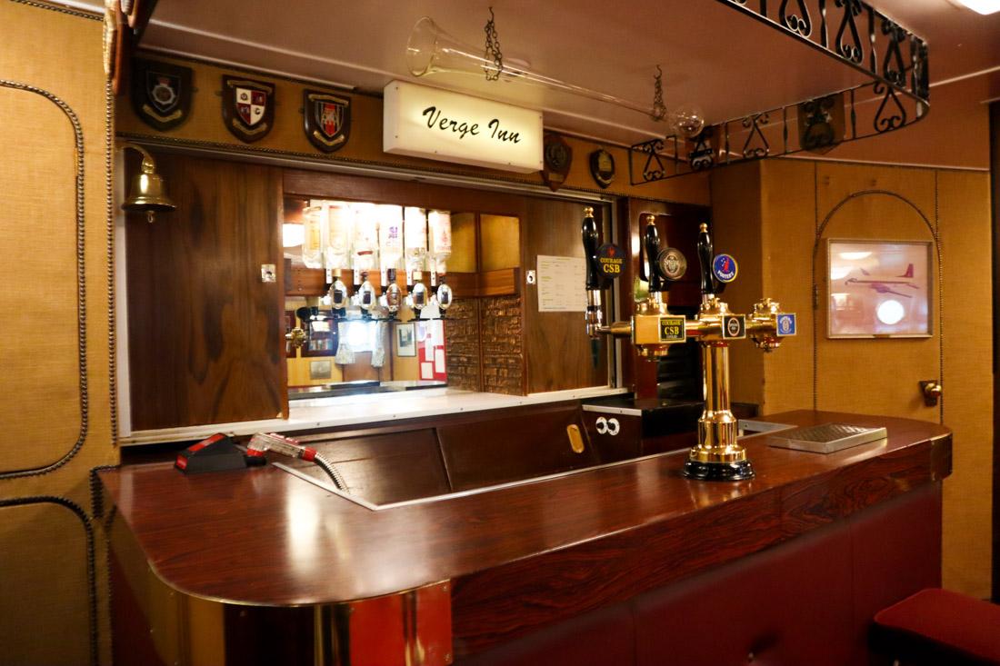 Royal Yacht BRITANNIA Bar Tour