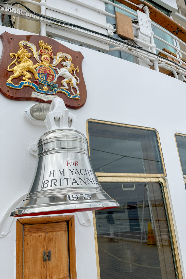 Royal Yacht BRITANNIA Bell on Deck Tour