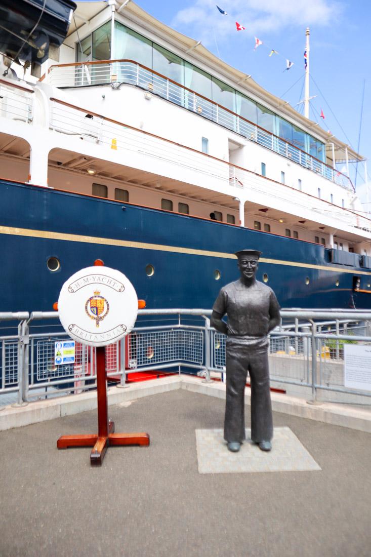 Royal Yacht BRITANNIA Entry Tour