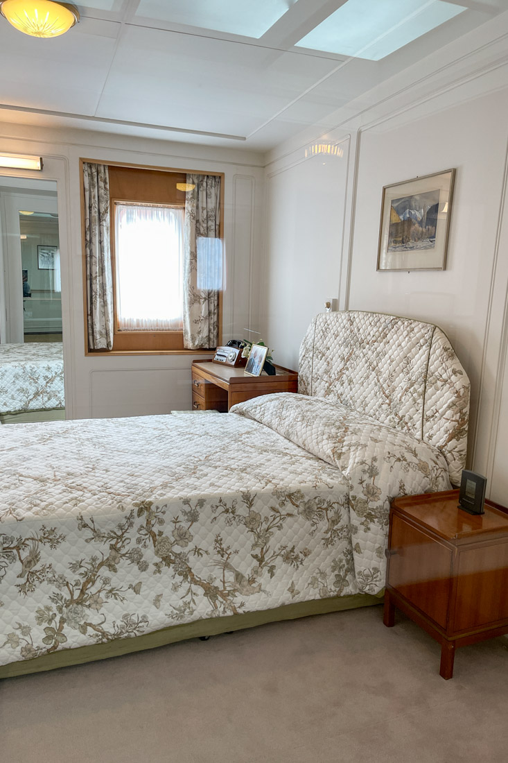 Royal Yacht BRITANNIA Honeymoon Room Tour