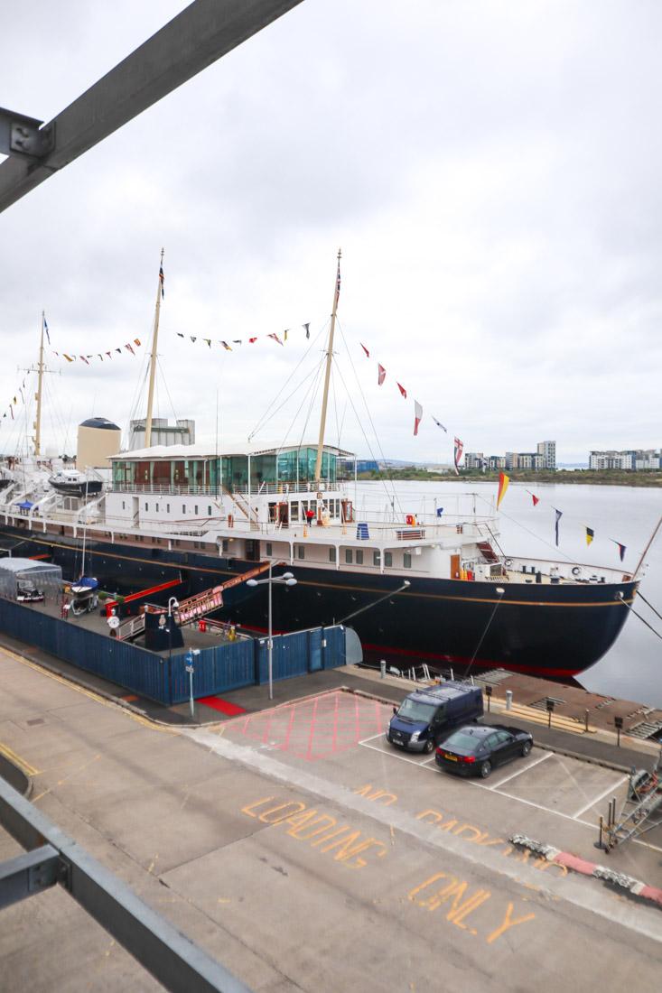 Royal Yacht BRITANNIA Leith Docks Tours
