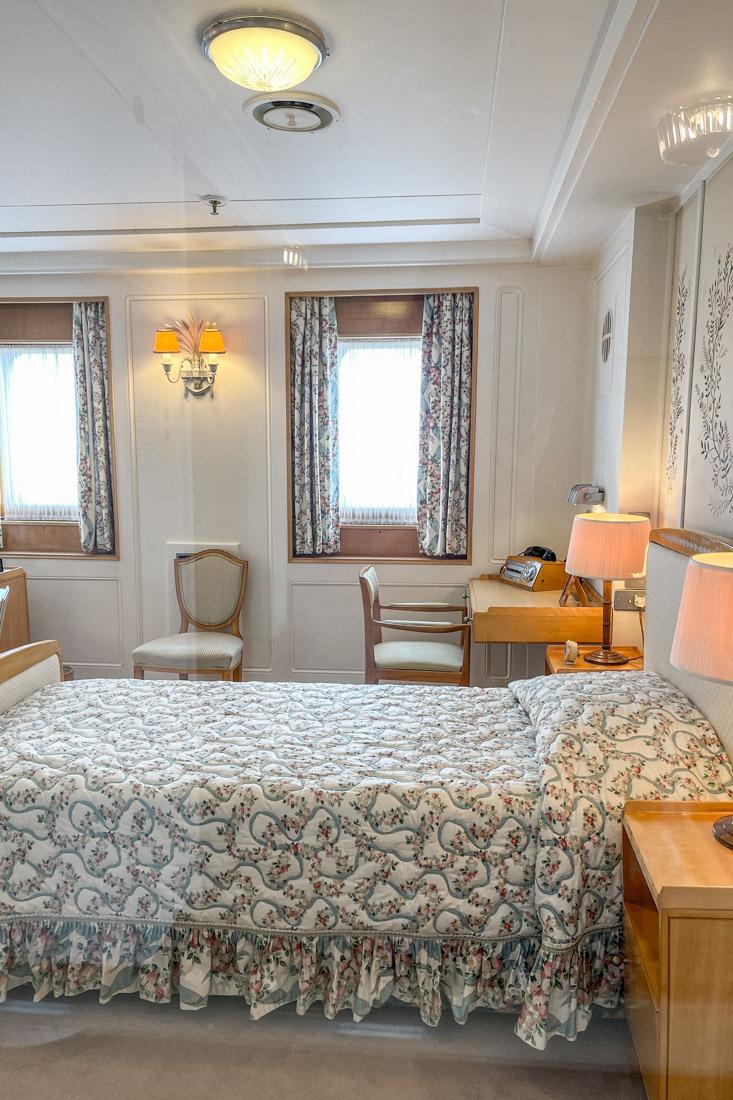 Royal Yacht BRITANNIA Queen Room Tour