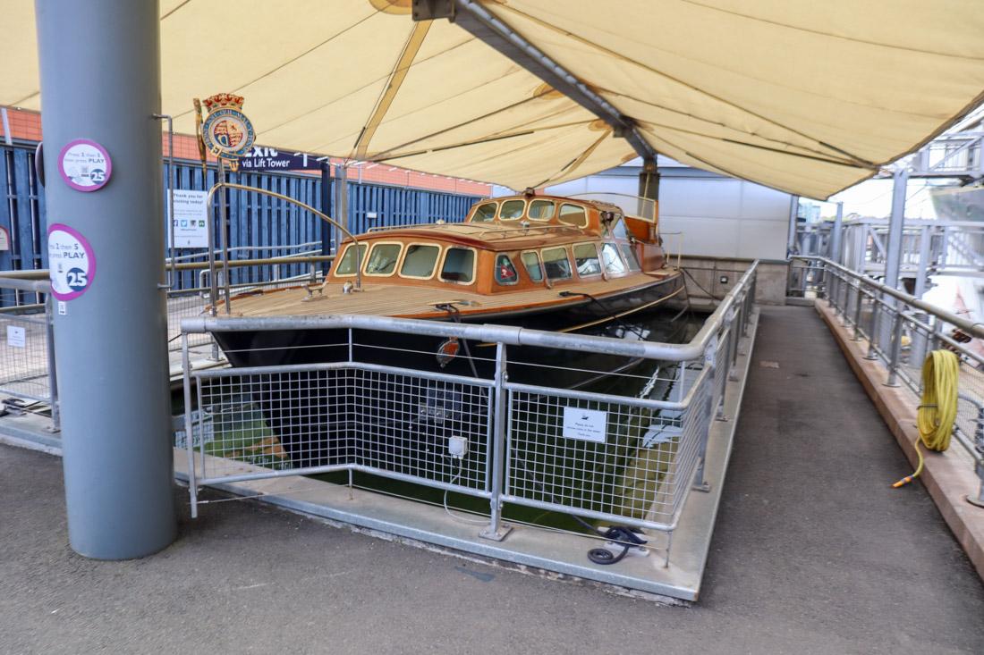 Royal Yacht BRITANNIA Small Boat Tour