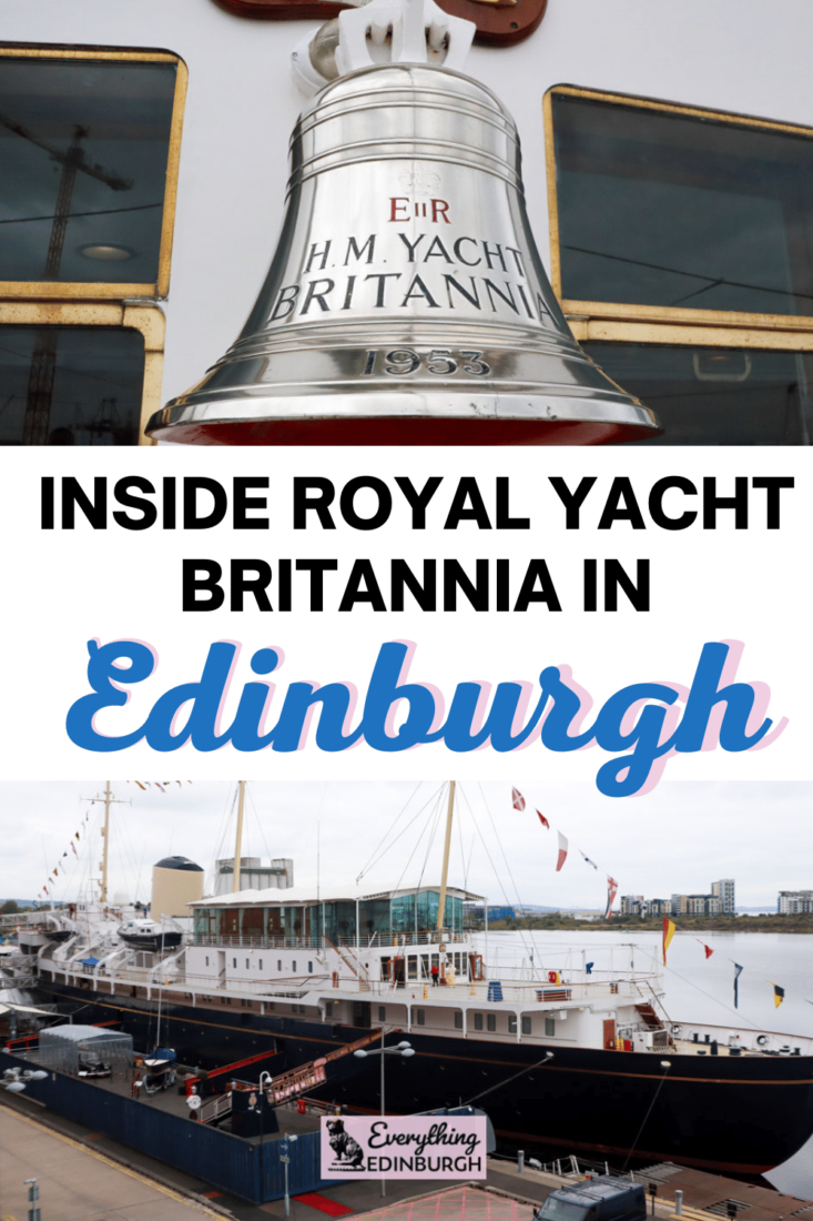 Take a sneaky peek inside the Royal Yacht Britannia berthed at Leith in Edinburgh. The floating palace's State Apartments can now be enjoyed by visitors. A unique thing to do in Edinburgh admired by royal and seafaring fans alike.