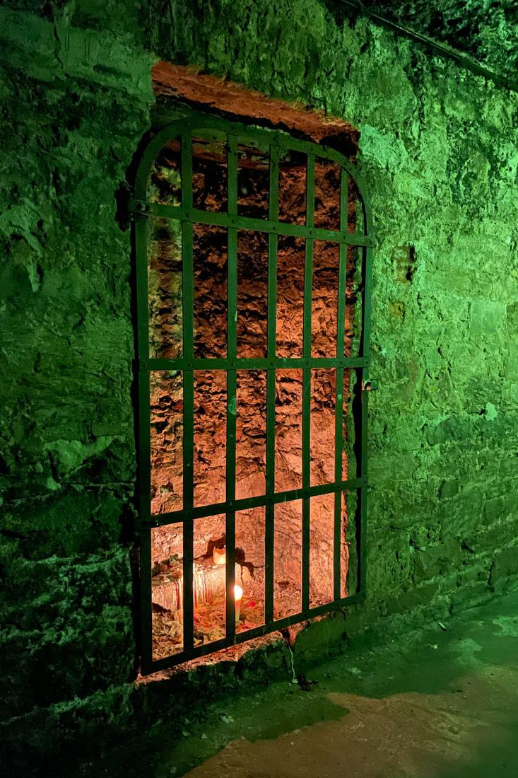 Underground Vault Gated Window Tour