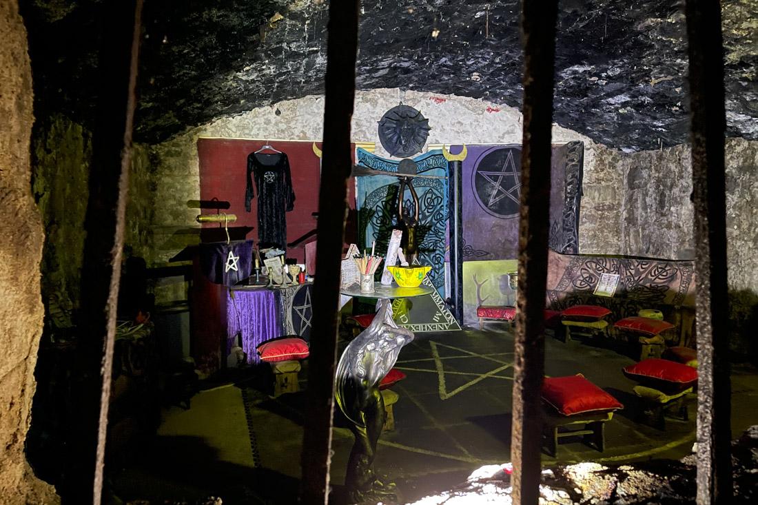 Underground Vault Temple Tour