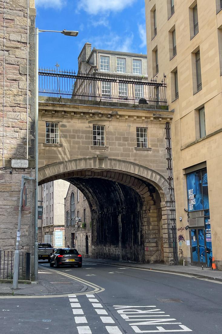 Vault Arch Cowgate Old Town Edinburgh Tour