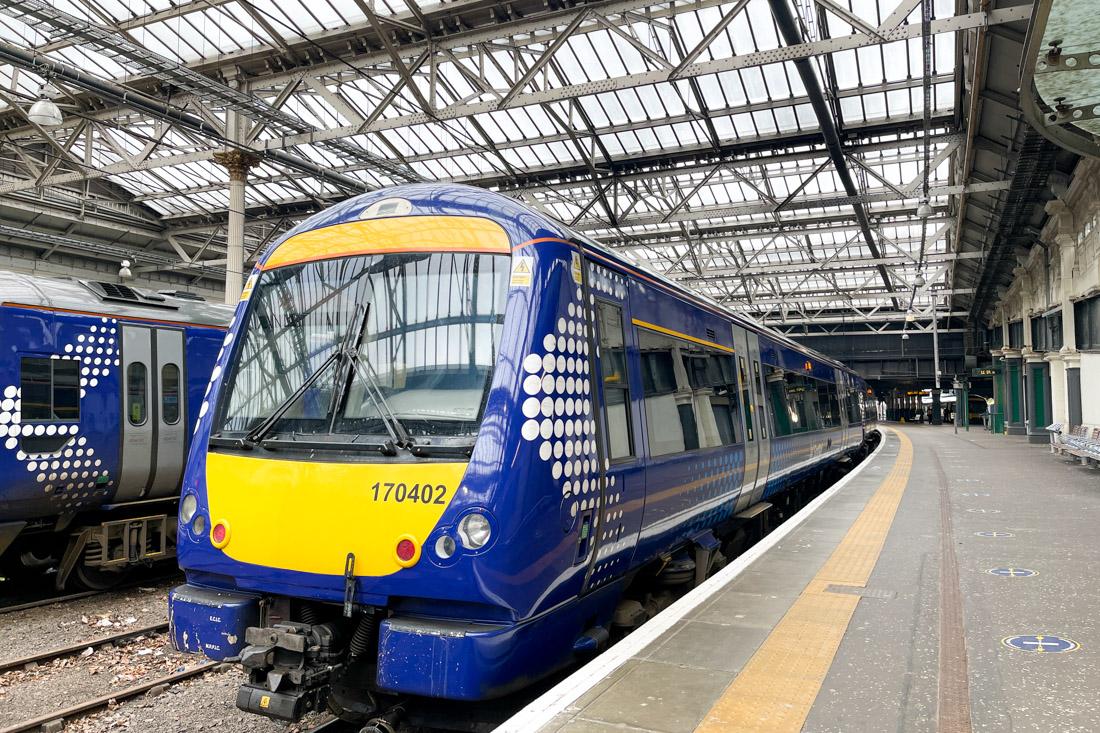 Waverley Train Station Edinburgh Transport