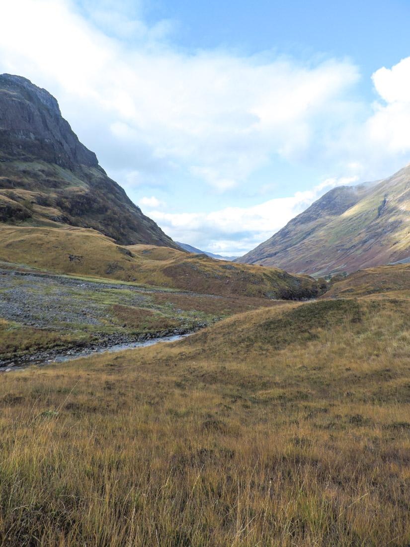 Glen Co Mountains Scotland
