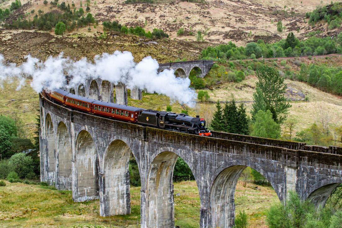 Jacobite Steam Train Hogwarts Train Harry Potter Scotland