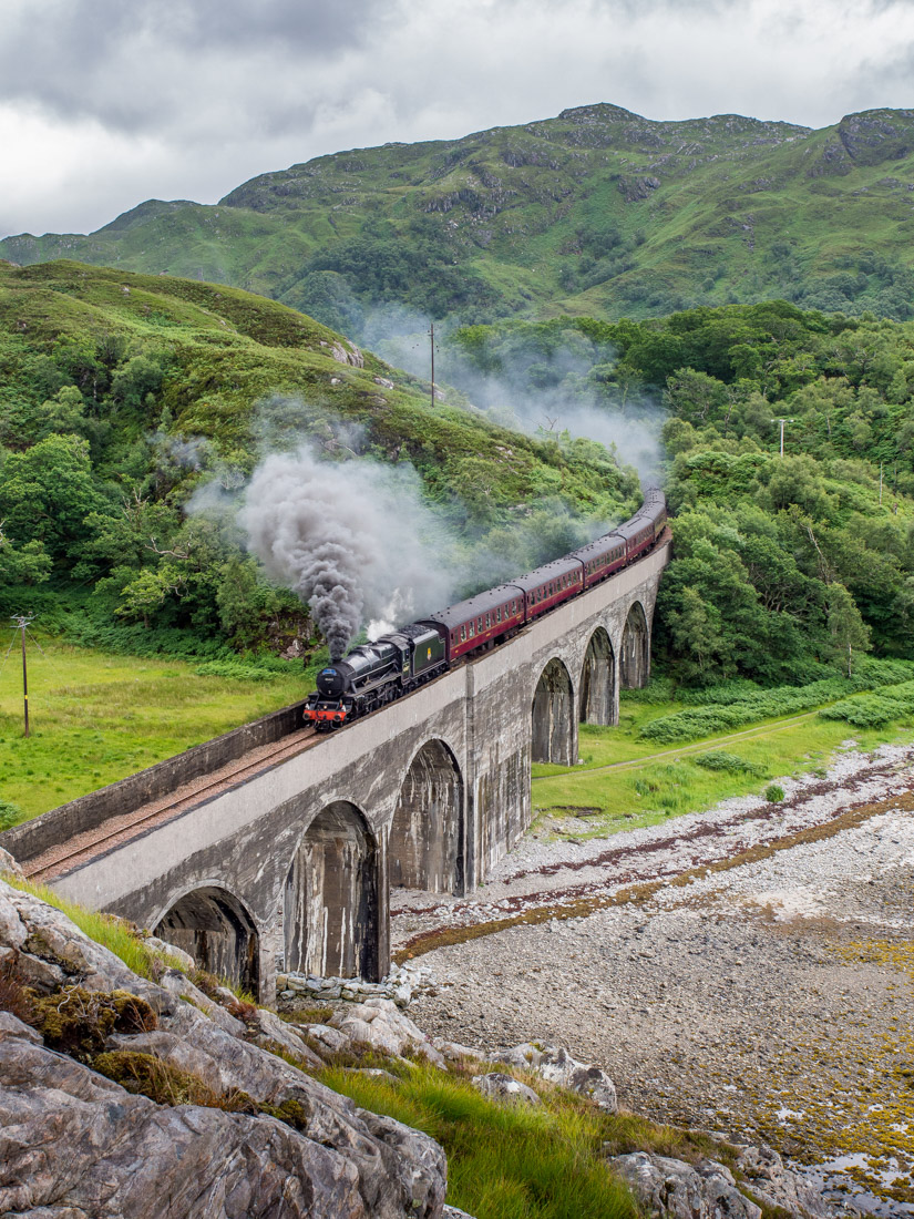Jacobite Steam Train Hogwarts Train for Harry Potter Scotland