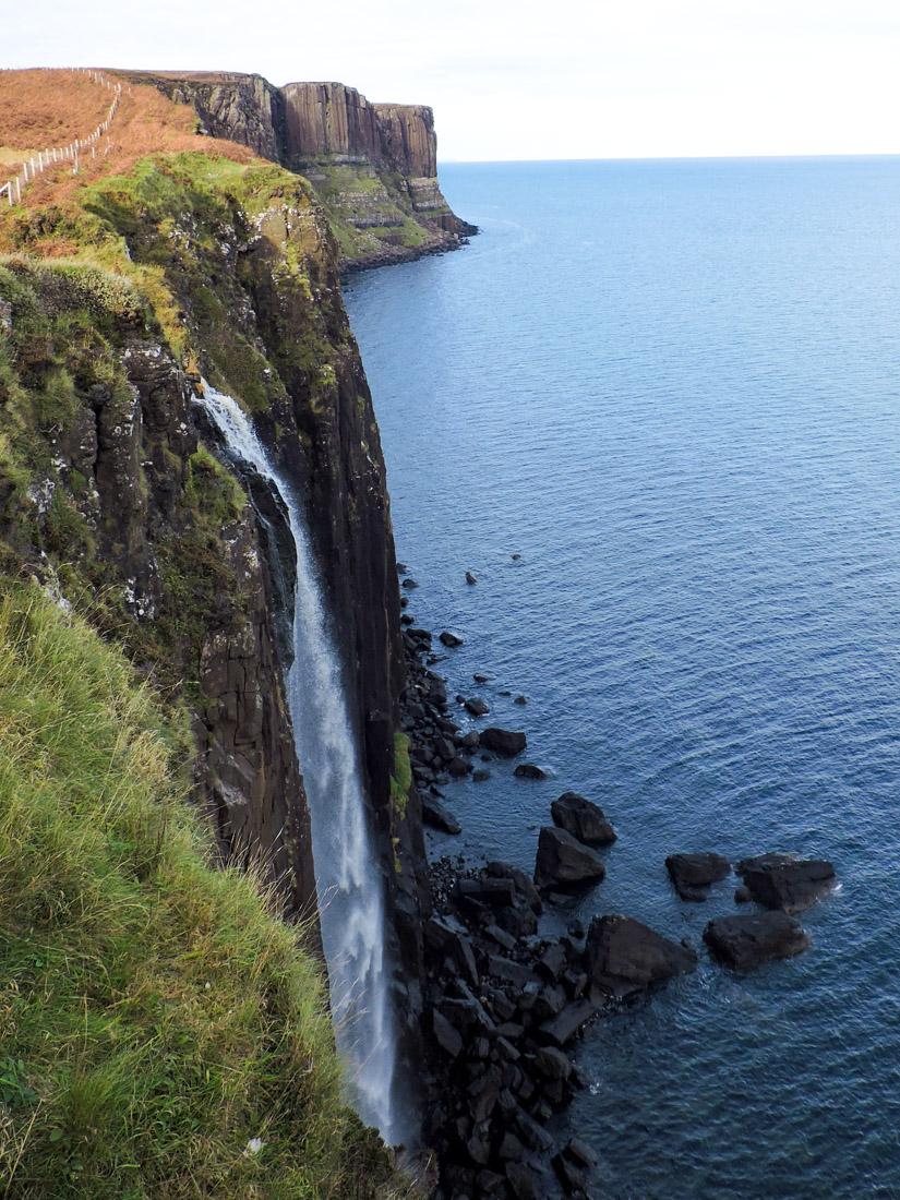 Kilt Rock Isle of Skye on Scotland