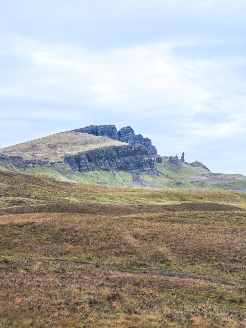 Old Man of Storr Isle of Skye in Scotland