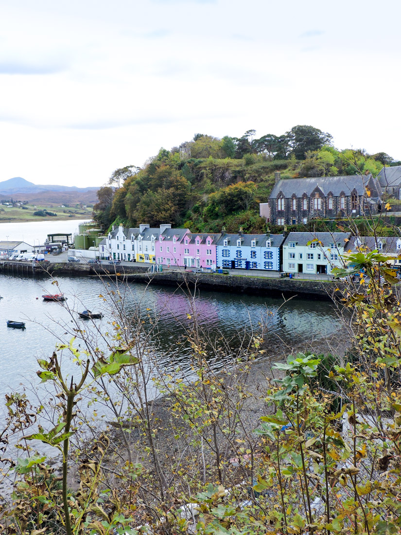 Portree Isle of Skye, Scotland