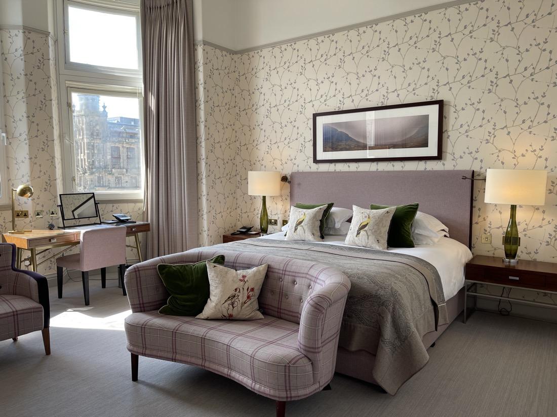 Balmoral Hotel Suite Window