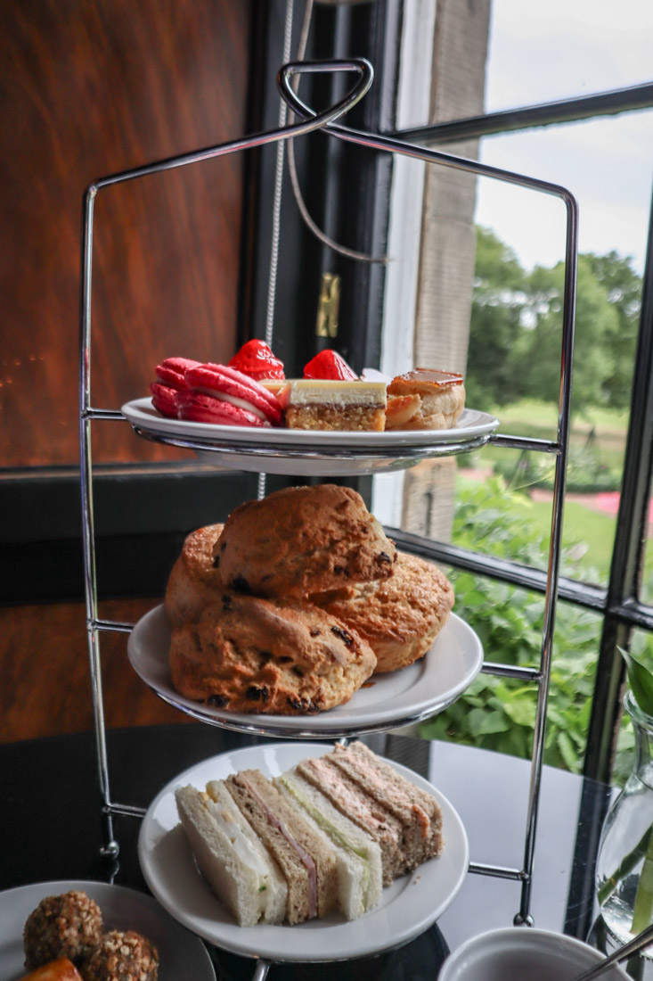 Porterfield House Afternoon Tea Rhubarb Restaurant Hotel Food