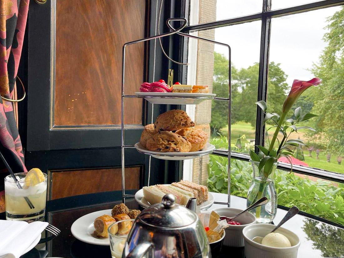 Prestonfield House Rhubarb Restuarant Afternoon Tea Lunch