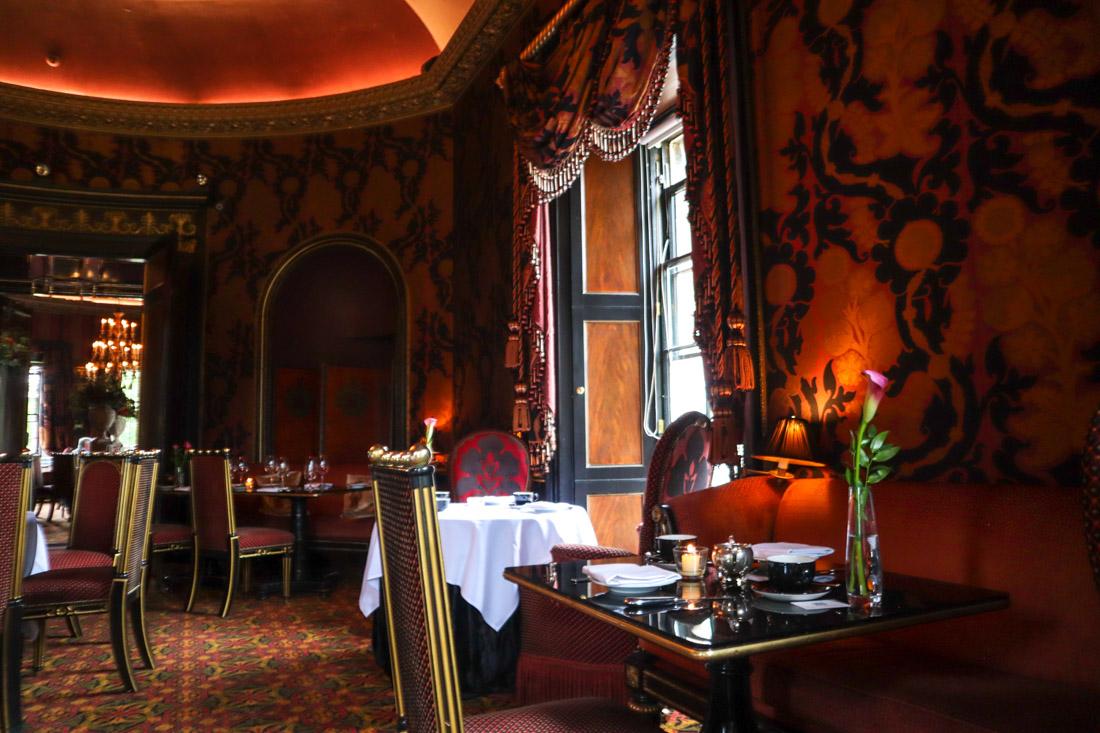Porterfield House and Rhubarb Restaurant Hotel Food