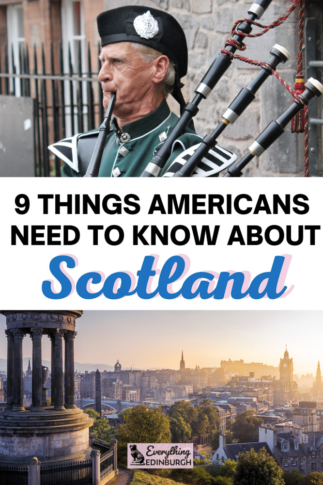 Things to know before visiting Scotland