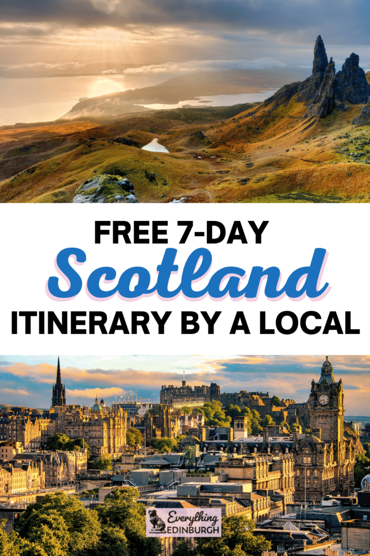 7 days in Scotland itinerary guide
