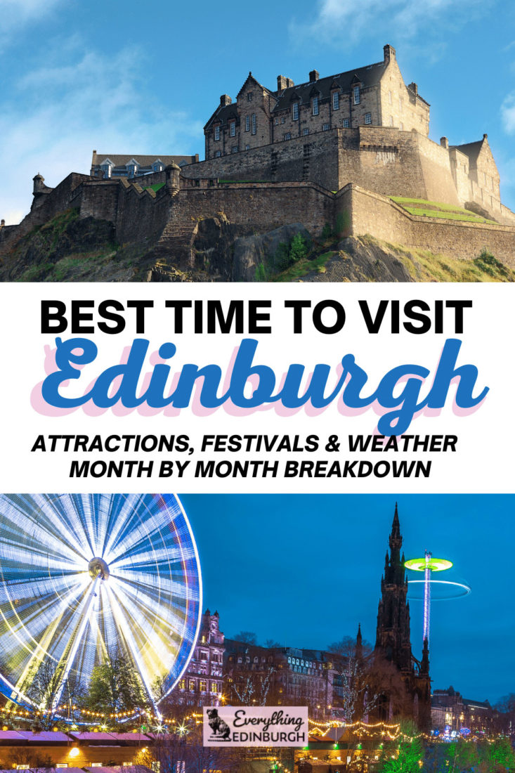 Best time to visit Edinburgh Scotland