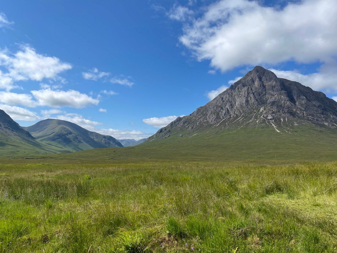 Buachaille Etive Mor in Glencoe Scotland Highlands