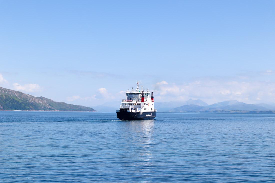 CalMac Ferry Mull Scotland
