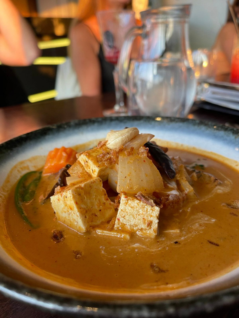Chaophraya massaman curry food Edinburgh