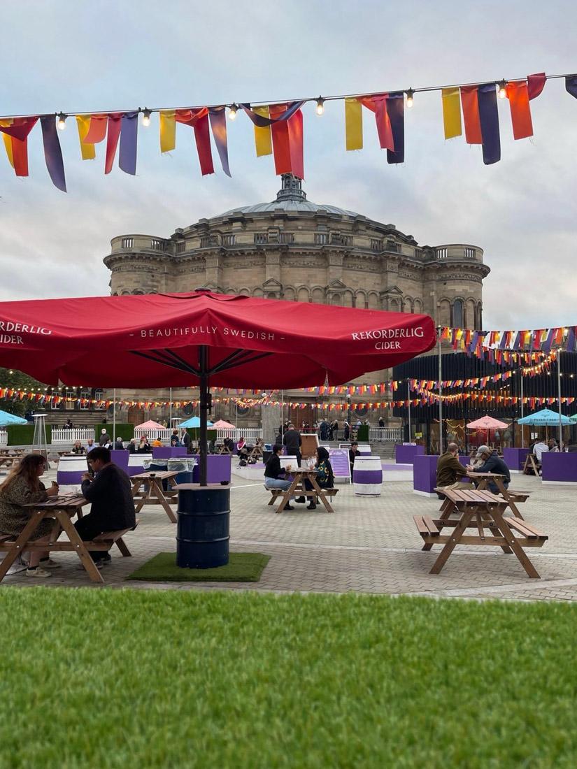 Edinburgh Fringe Teviot bars