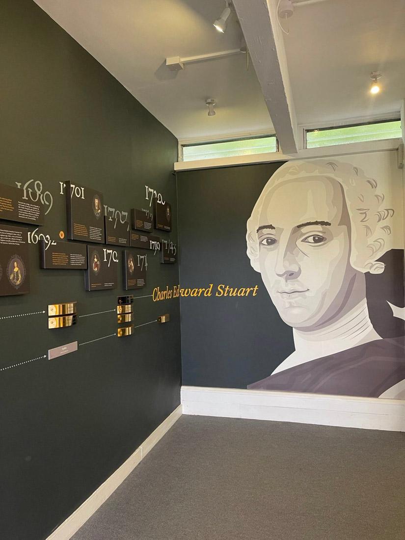 Glenfinnan Museum Exhibition Scotland