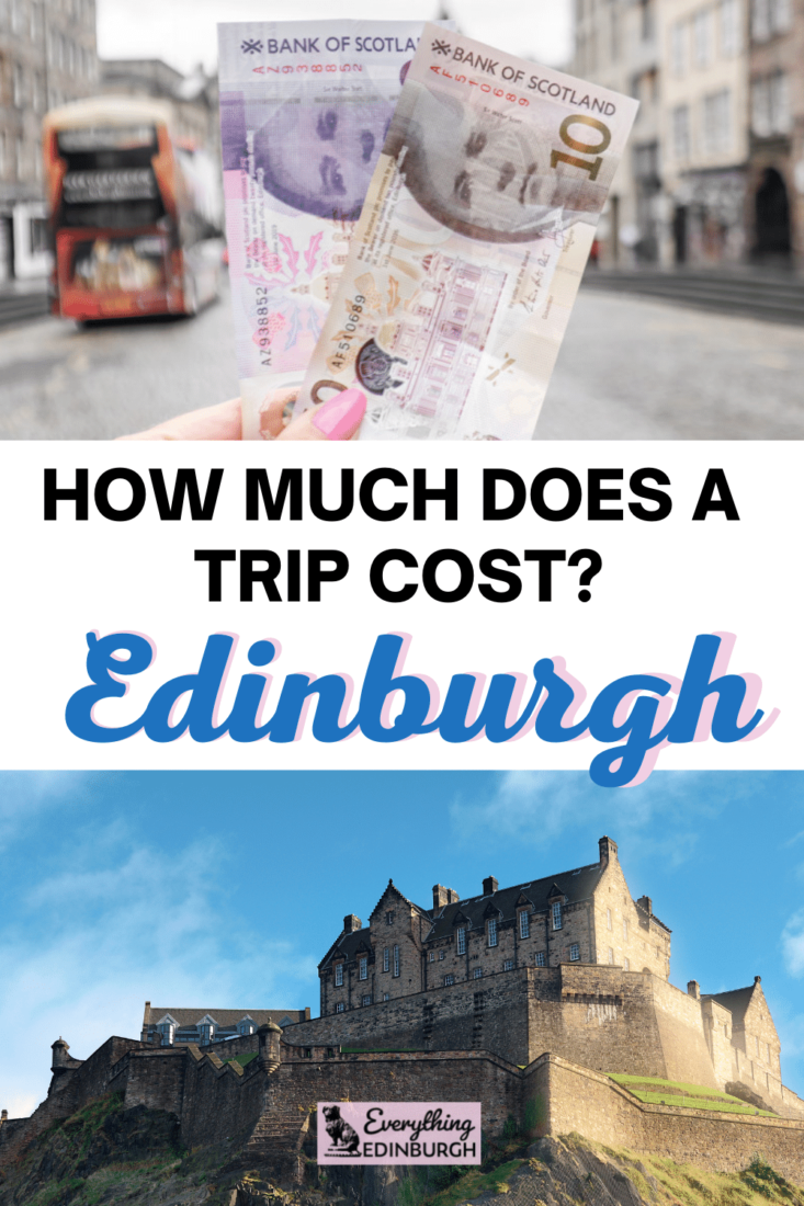 How much does visiting Edinburgh cost