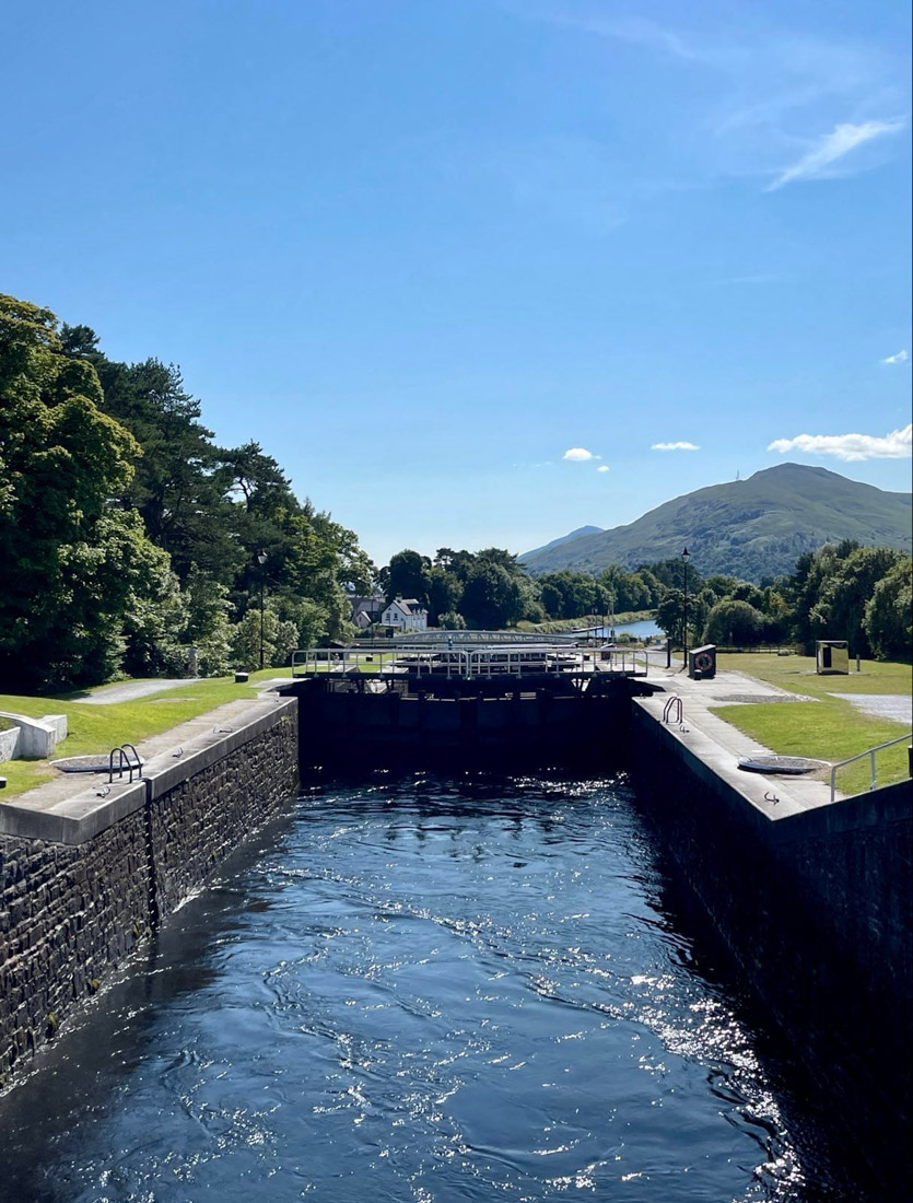 Neptune Staircase Caledonian Canal For William Scotland Highlands