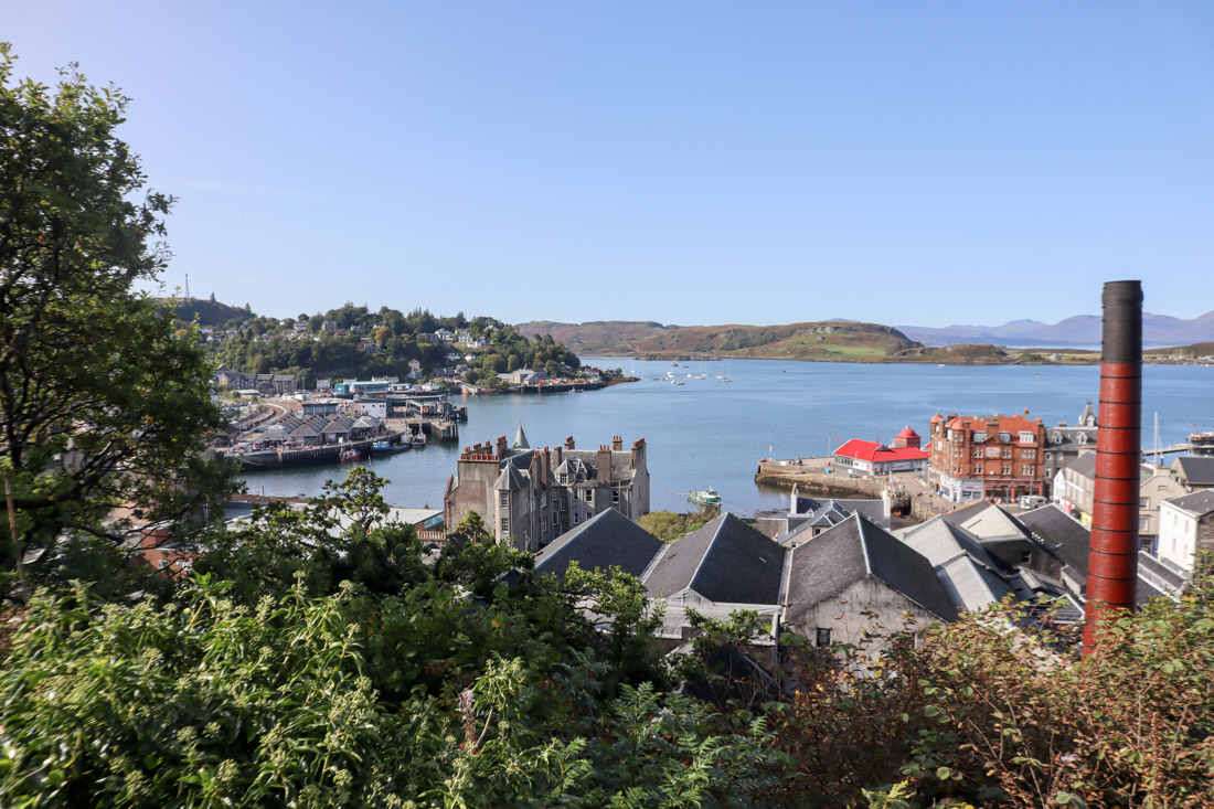Oban from Jacobs Ladder Scotland
