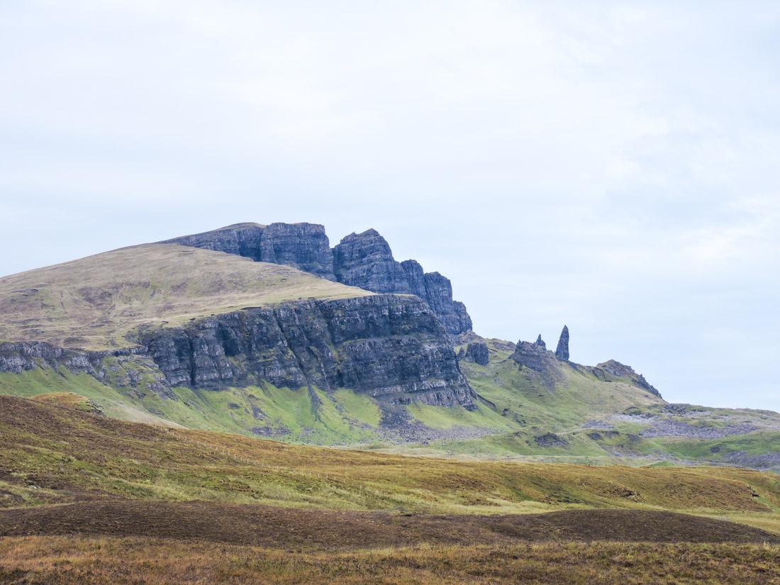 Old Man of Storr Isle of Skye on Scotland