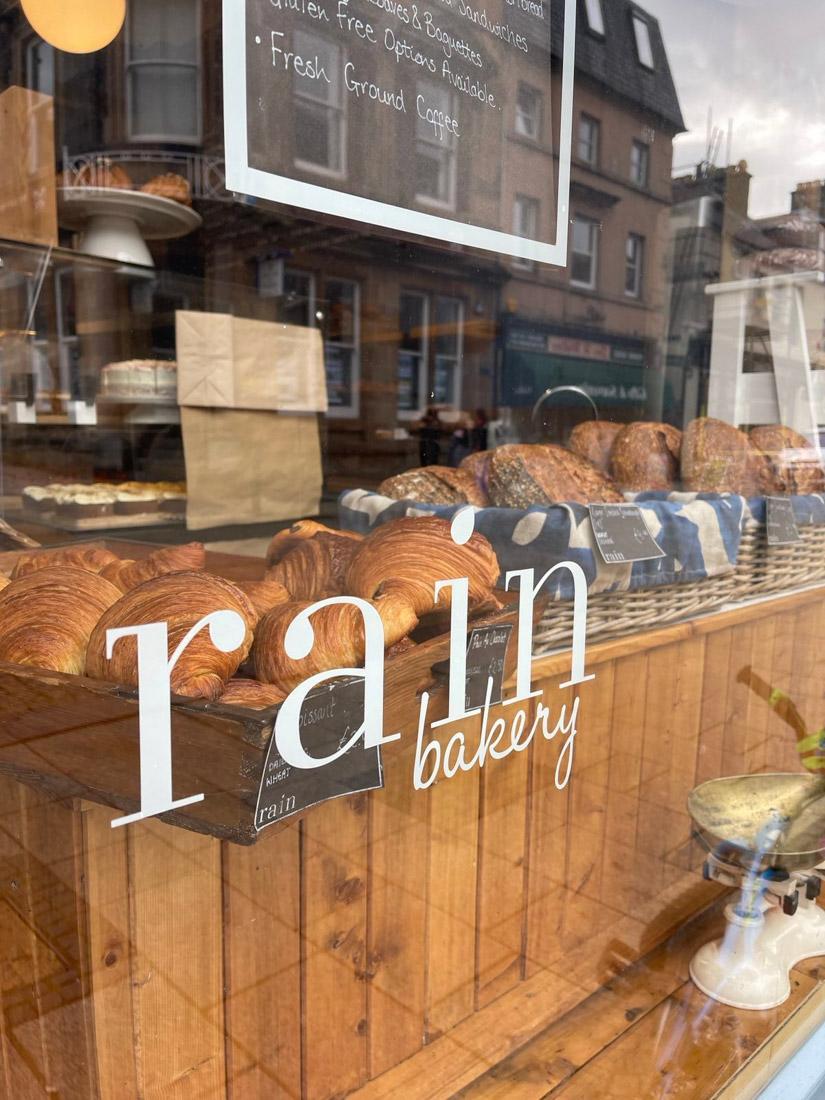 Rain Cafe Fort William Scotland