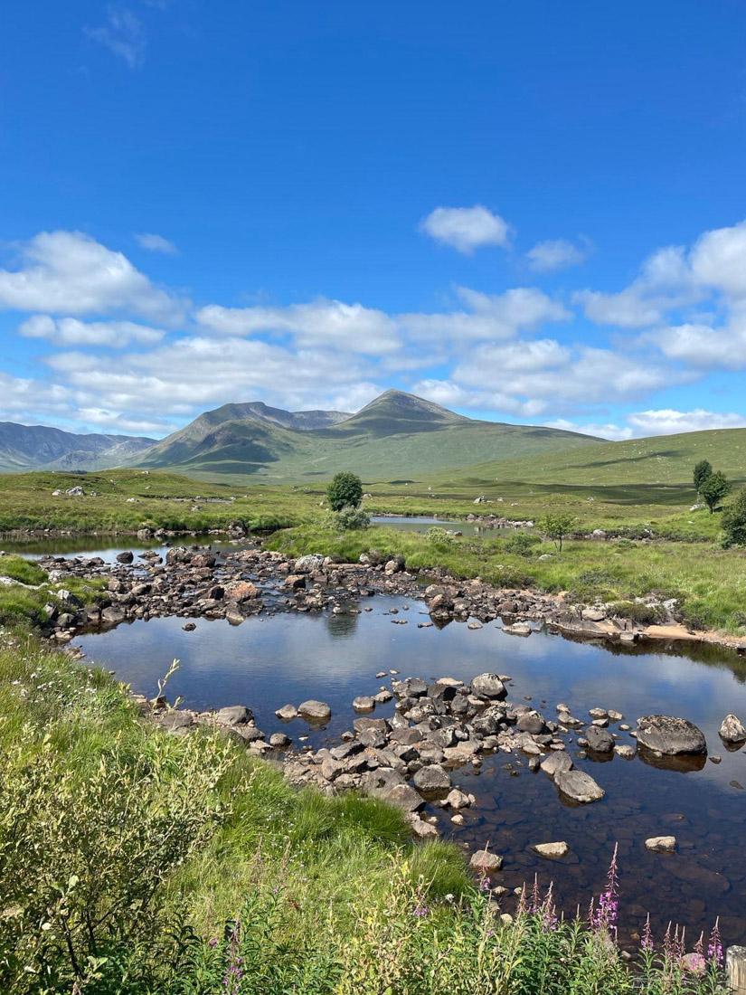 Rannoch Moor Scotland West Highland Way