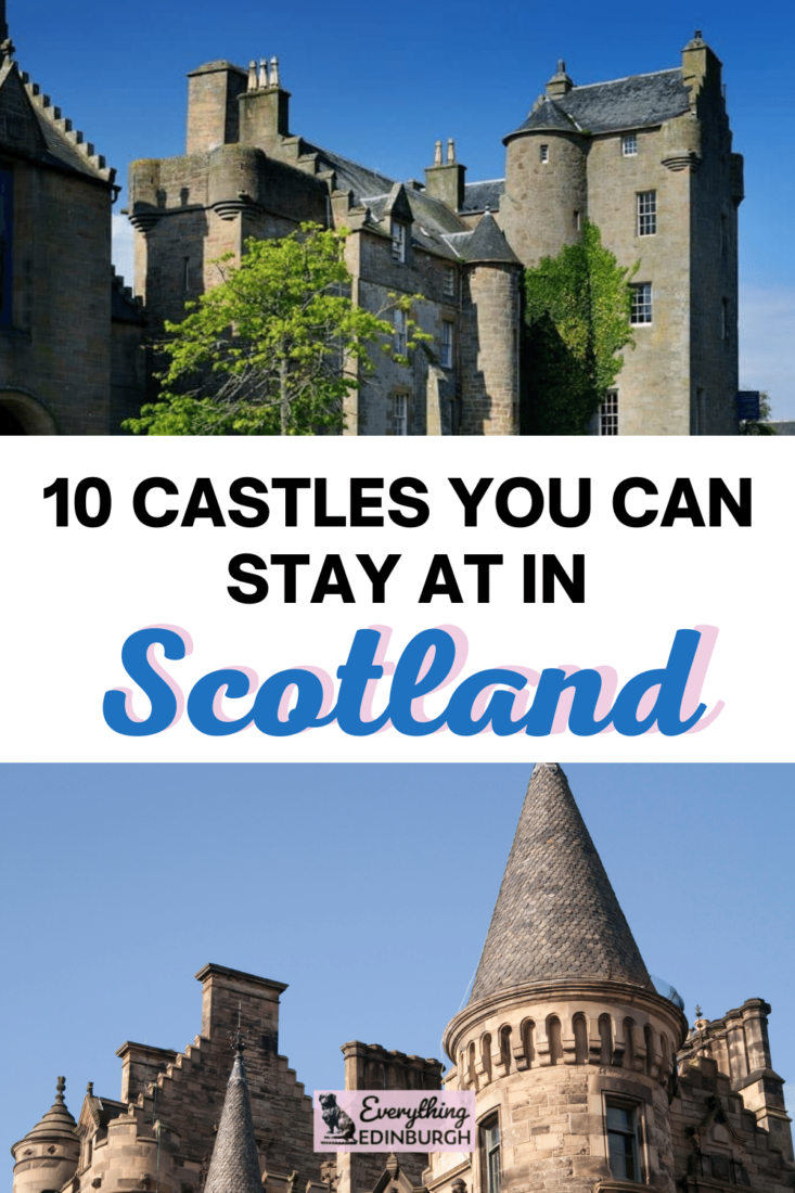 Stay in a castle in Scotland! Looking for unique places to stat in Edinburgh and beyond? This guide shares the best castle hotels in Scotland, princess!