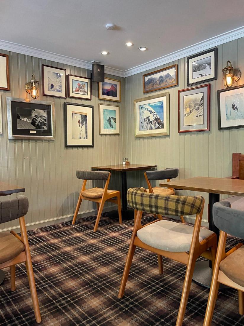 The Clachaig Inn Restaurant Food Scotland Highlands